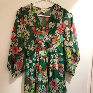 Flowy floral dress from Cotton Candy